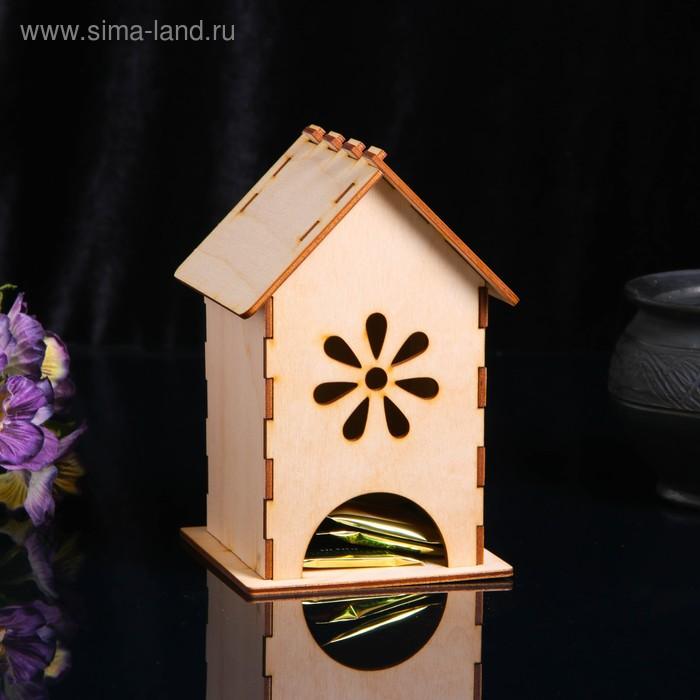 """Чайный домик """"Цветок"""" 11*18см"""