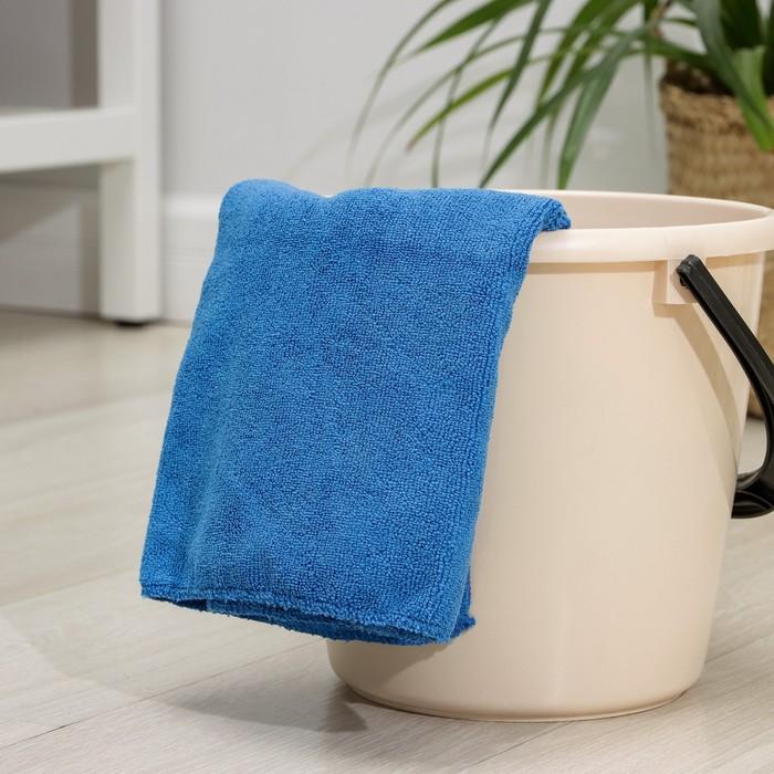 Салфетка из микрофибры 70×80 см, 280 г/м2, цвет МИКС