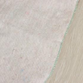 Тряпка для мытья полов, плотность 200 г/м2, с отверстием для швабры - фото 4648358