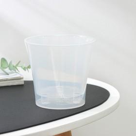 Кашпо со вставкой «Арте», 0,6 л, цвет прозрачный