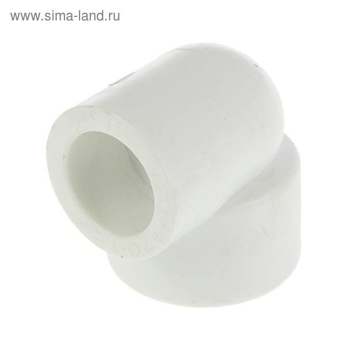 """Уголок """"РВК"""", полипропиленовый, комбинированный, 20 мм х 1/2"""", внутренняя резьба"""