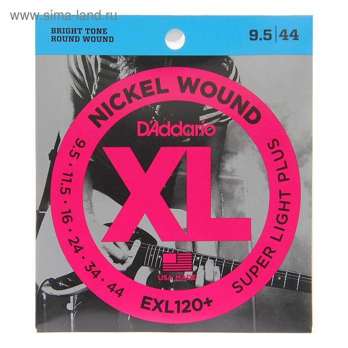 Струны D'Addario Super Light Plus  для электрогитары,  9.5-44,