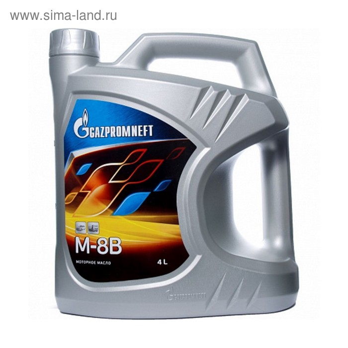 Моторное масло Gazpromneft М-8В, 4 л