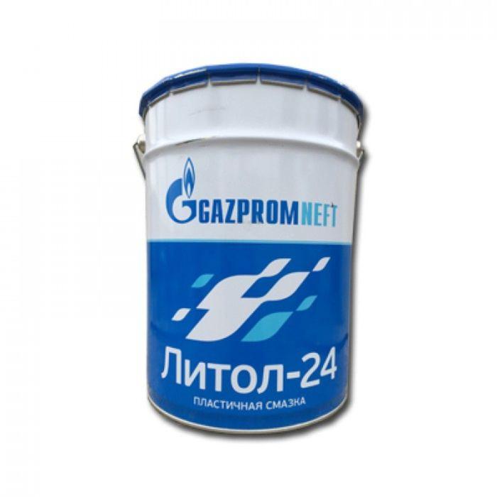 Пластичная смазка Gazpromneft Литол-24, 20 л (18 кг)