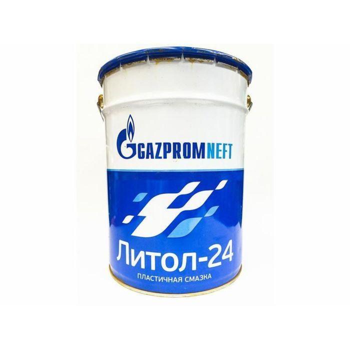 Пластичная смазка Gazpromneft Литол-24, 60 л (45 кг)