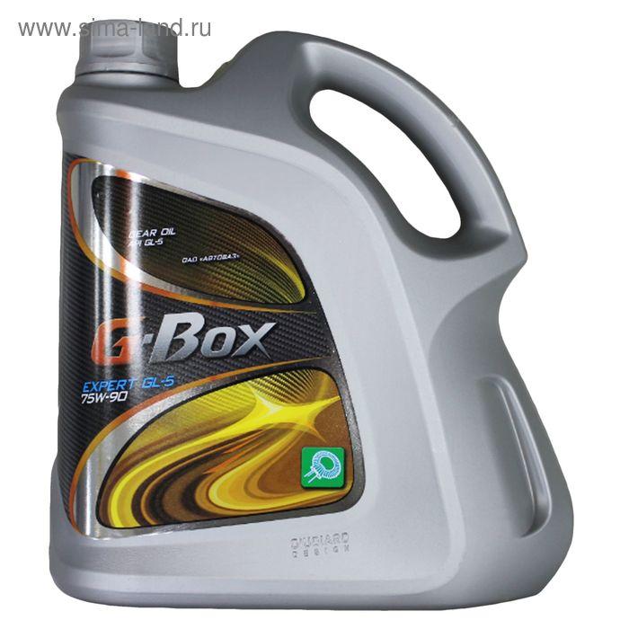 Трансмиссионное масло G-Box Expert GL-5 75W-90, 4 л