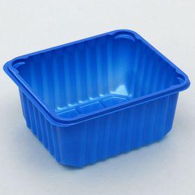 Лоток 14х12х7 см, цвет синий Ош