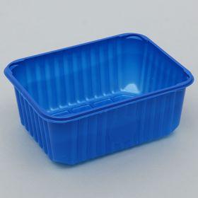 Лоток 18х14х7 см, цвет синий Ош