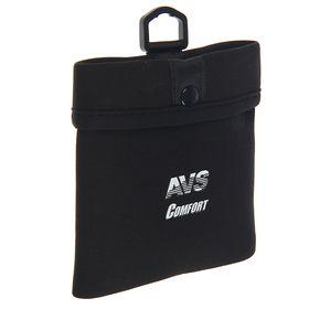 Держатель универсальный автомобильный magic pocket AVS MP-888, 115х145 мм, черный