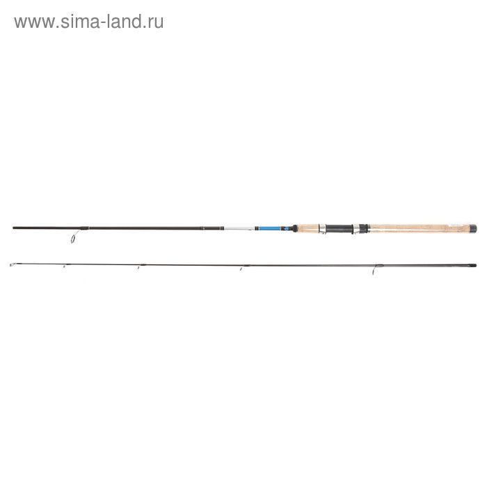 Удилище Shimano Alivio DX Spinn 240 ML, тест 7-21 гр.