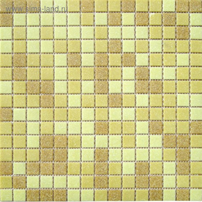 Mозаика стеклянная Elada Mosaic МС103Р, песочная на бумаге, 327х327х4 мм