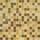 Mозаика стеклянная Elada Mosaic MC104, тёмно-песочная, 327х327х4 мм
