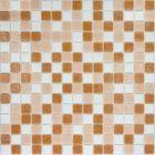 Mозаика стеклянная Elada Mosaic MC125, светло-коричневая, 327х327х4 мм