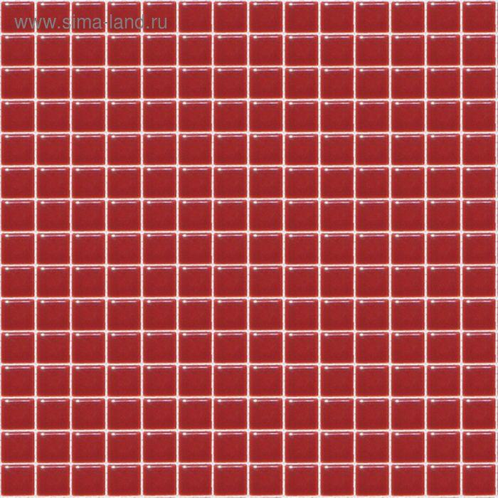 Mозаика стеклянная Elada Mosaic A917, красная, 327х327х4 мм
