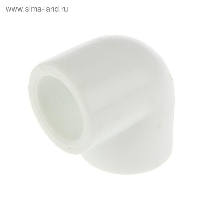"""Уголок """"РВК"""", полипропиленовый, 25 мм, 90°"""