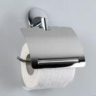 """Держатель для туалетной бумаги с крышкой """"Accoona А11005"""", цвет хром"""
