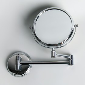 """Зеркало двухстороннее, увеличительное Accoona А223-6, 6"""", настенное"""