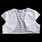 Болеро «Кружево», белое, размер 48 — 50