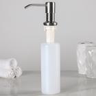 Дозатор для жидкого мыла Accoona А185, врезной, 240 мл, металл