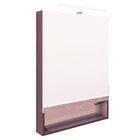 Зеркальный шкафчик Roca The Gap, цвет фиолетовый, ширина 60 см