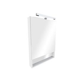 Зеркальный шкаф Roca The Gap, цвет белый, ширина 70 см