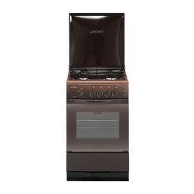 Плита газовая Gefest 3200-06 K19, 4 конфорки, 42 л, газовая духовка, коричневая
