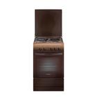 Плита электрическая Gefest 5140-01 0001, 4 конф., 52 л, эмаль, гриль, коричневая