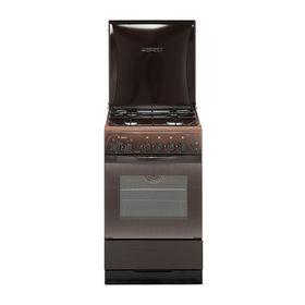 Плита газовая Gefest 3200-05 K19, 4 конфорки, 42 л, газовая духовка, коричневая