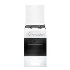 Плита Gefest 3200-06 K2, газовая, 4 конфорки, 42 л, газовая духовка, белая