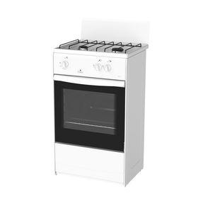 Плита газовая Darina 1 AS GM 521 001 W, 2 конфорки, 50 л, газовая духовка, белый