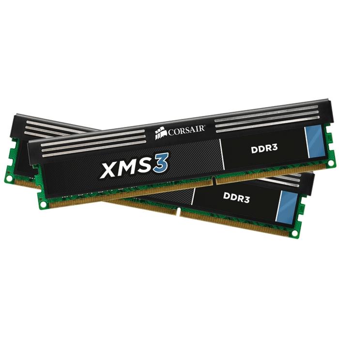 Память DDR3 2x4Gb 1333MHz Corsair CMX8GX3M2A1333C9 RTL PC3-10600 CL9