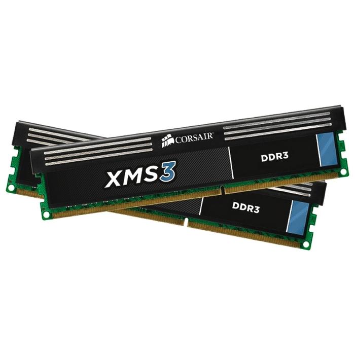 Память DDR3 2x4Gb 1600MHz Corsair CMX8GX3M2A1600C9 RTL PC3-12800 CL9