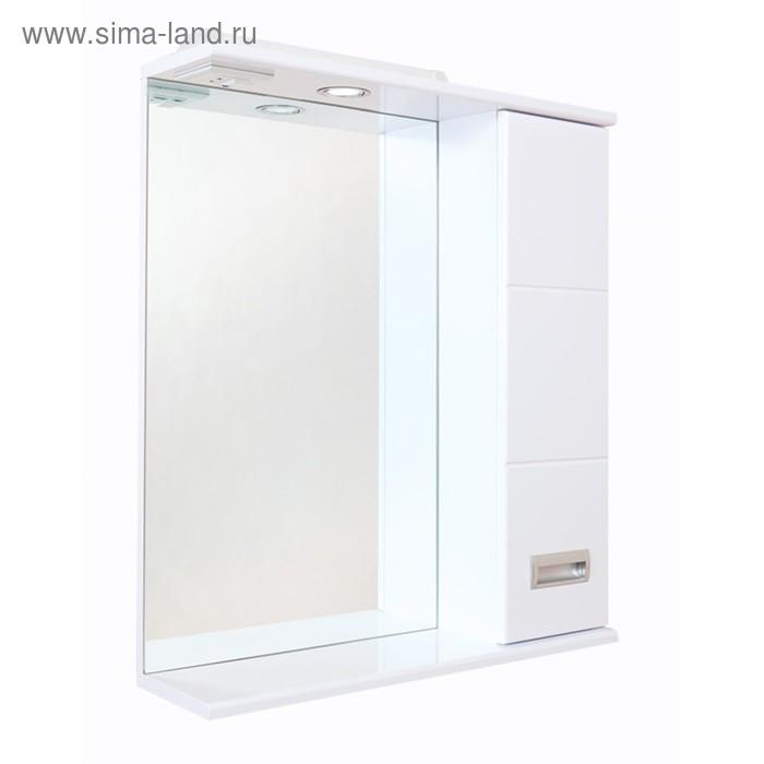 Зеркало-шкаф Onika Балтика 58.02, правостороннее, Белое