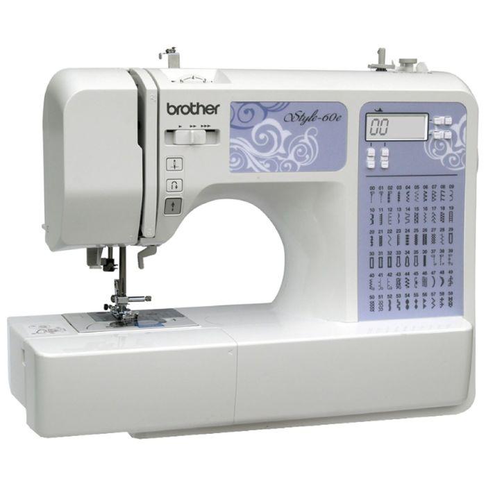 Швейная машина Brother Style 60e, 60 операций, обметочная, потайная, эластичная строчка