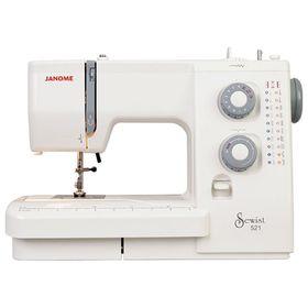 Швейная машина Janome SE 518, 75 Вт, 18 операций, полуавтомат, белая