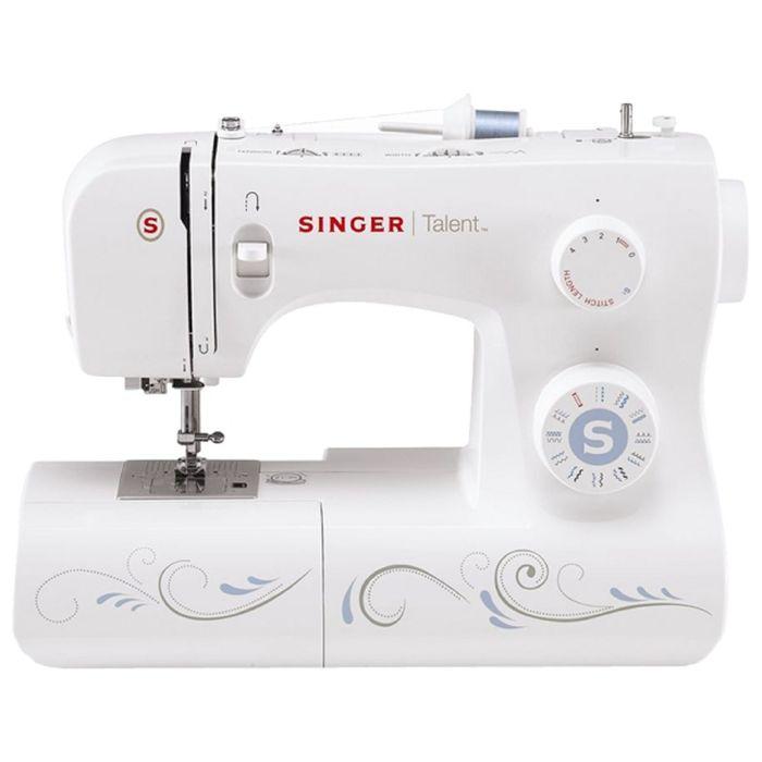 Швейная машина Singer Talent 3323, 23 операций, обметочная, потайная, эластичная строчка
