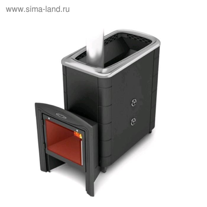 Печь банная Термофор Тунгуска XXL 2013 Inox витра ТО антрацит