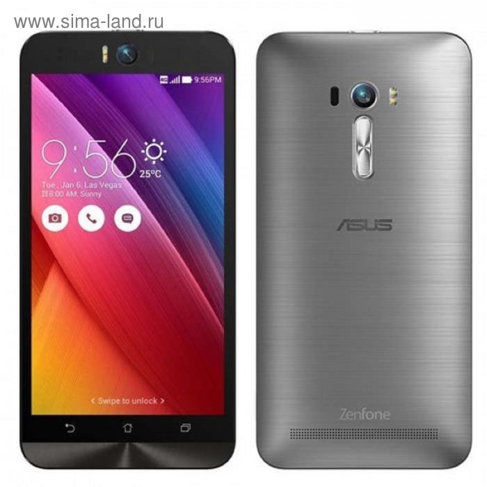 Смартфон Asus ZenFone Selfie ZD551KL, 32 Gb, серебристый