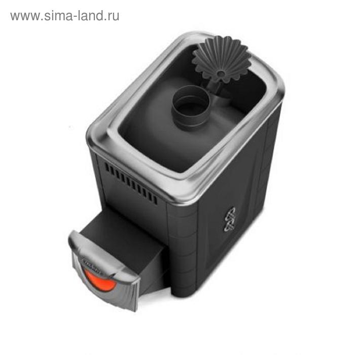 Печь банная Термофор Ангара 2012 Inox ДНС ЗК ТО антрацит