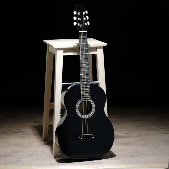 Гитара акустическая 2С чёрная, 6 струн, Ижевский завод - фото 1651831