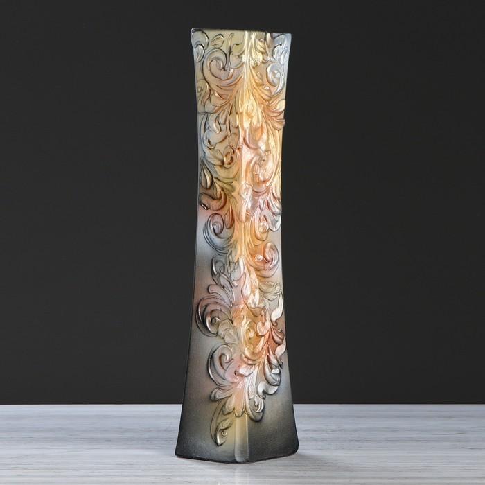 """Ваза напольная """"Айсберг"""", разноцветная, 64 см, микс, керамика - фото 1652026"""