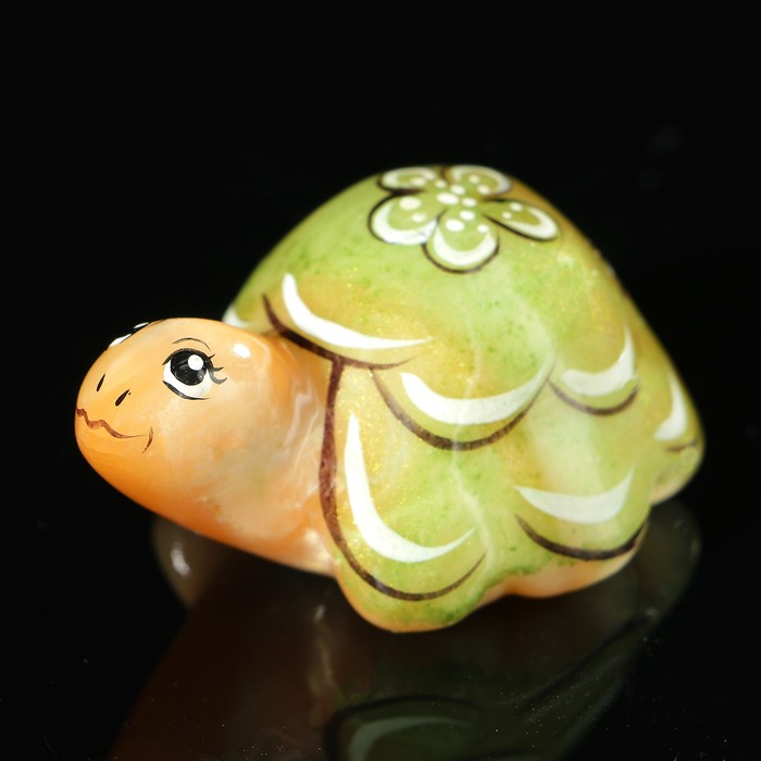 Сувенир «Черепаха», 5×3,5 см, селенит
