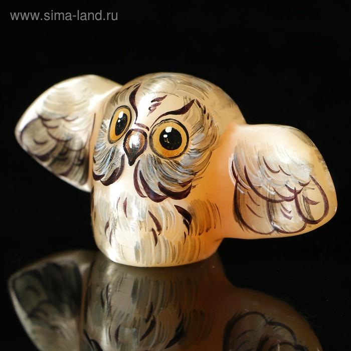Сувенир «Совёнок с крыльями», селенит