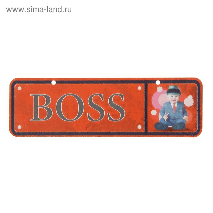 Номер на коляску «Босс»