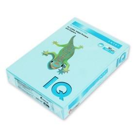 Бумага цветная А4 500 л, IQ COLOR, 80 г/м2, голубой, MB30