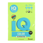 Бумага цветная А4 500 л, IQ COLOR, 80 г/м2, зеленый неон, NEOGN - фото 1652076