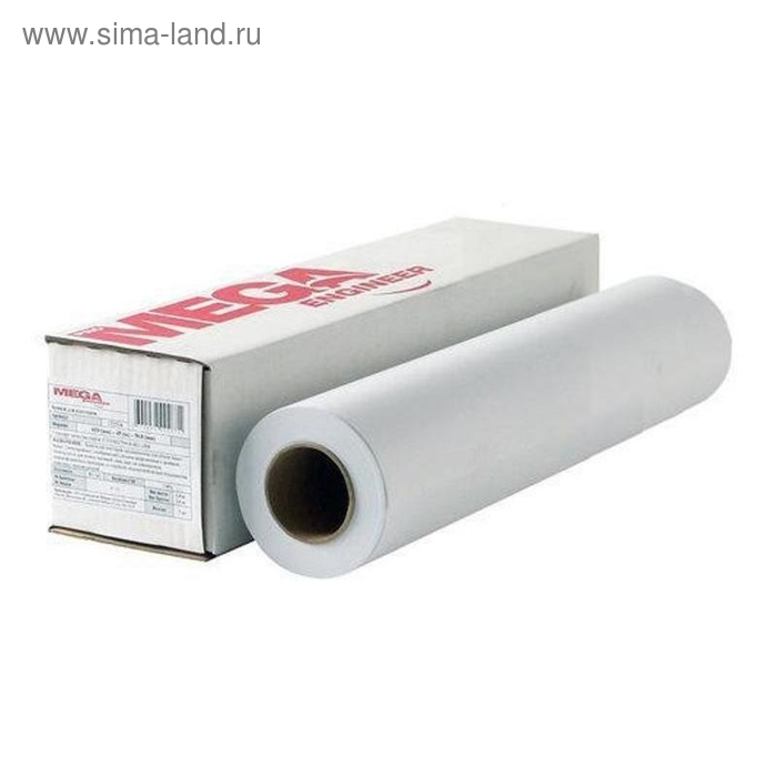 Бумага широкоформатная MEGA Engineer,InkJet,80г,А2/420ммх45м,д.50,8 мм.