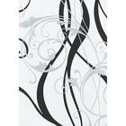 """Обои виниловые 3579-7 Erismann-R, """"Симфония"""", чёрно-белые, 1,06х10 м"""