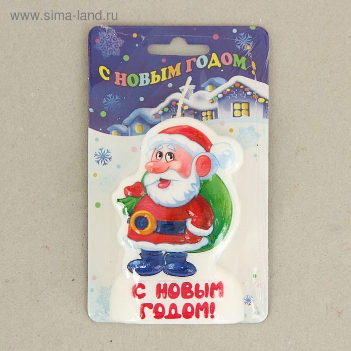 "Свеча-барельеф ""Дед мороз"""
