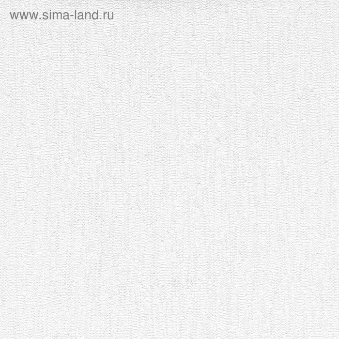 Обои виниловые под покраску  1,06х25м текстильное плиссе 107-042